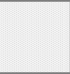 isometric grid seamless pattern abstract vector image
