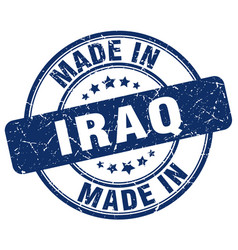 Made in iraq vector