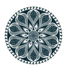 Mandala oriental symbol vector