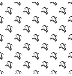 mobile money pattern seamless vector image