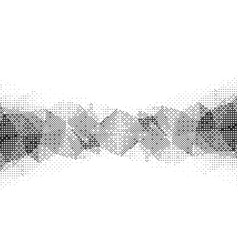 monochrome particle pattern vector image