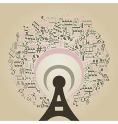 Musical radio vector