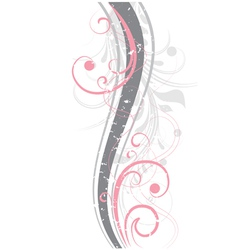pink abstraction vector image