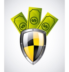 Security money vector