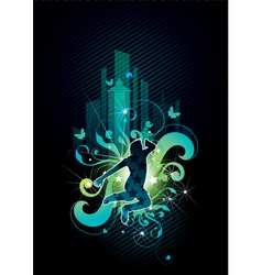 urban jumper vector image