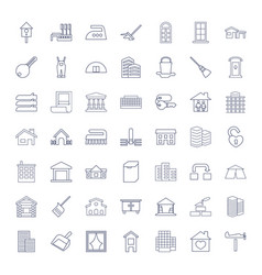 49 house icons vector