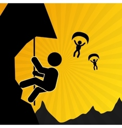 Activity icon design vector image