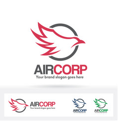 air company logo vector image