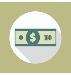 Dollar Banknote Icon vector