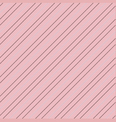 elegant pink diagonal texture seamless striped vector image