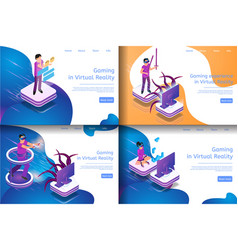 Isometric image process virtual game communicating vector