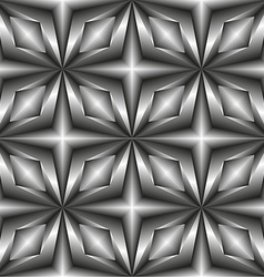 Pattern tiles in monochrome of the stars vector