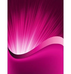 Purple Flow background vector image