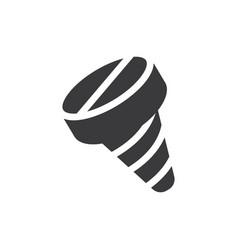 screw icon vector image