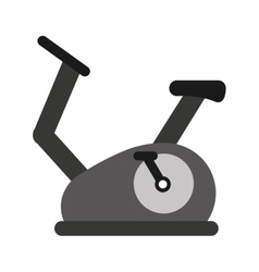 spinning fitness machine icon vector image