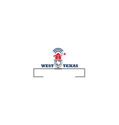 texas football vector image