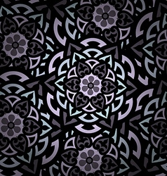 Mandala Round Ornament Pattern Islam Arabic Indian vector image vector image