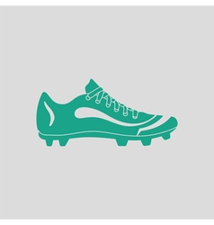 American football boot icon vector image vector image