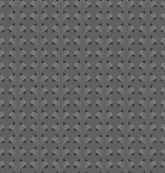 Gray abstract background braided vector image vector image