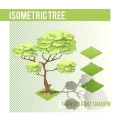 Isometric Tree 001 vector image
