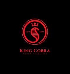 King cobra logo vector