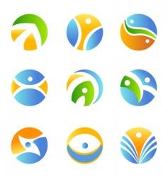 symbol design element vector image vector image