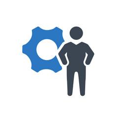 Admin icon vector