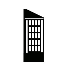 building business hotel urban real estate vector image