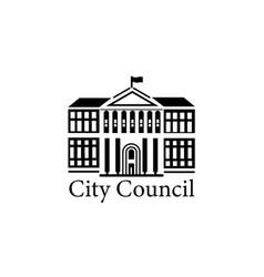 city council vector image
