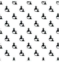 flask pattern seamless vector image