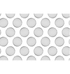 globe - abstract square pattern vector image
