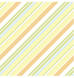 green orange striped background seamless pattern vector image