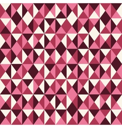 Pattern low poly pink vector