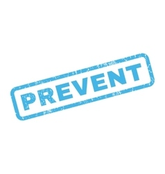 Prevent Rubber Stamp vector