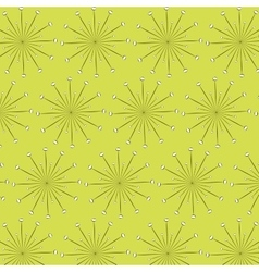 dots lines pattern vector image vector image