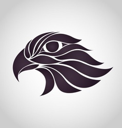 Abstract Hawk Logo vector