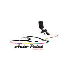 auto point logo vector image