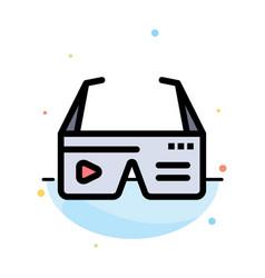 Computer computing digital glasses google vector