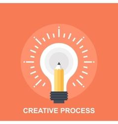 Creative Process vector image