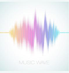 equalizer sound wave vector image