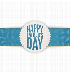 Festive Graphic Element for Fathers Day vector