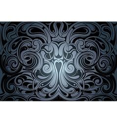 Mystical backdrop ornament vector image