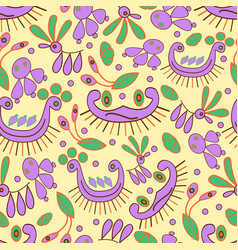 Seamless colorful and fun background vector