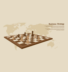 business strategy banner vector image vector image