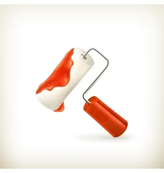 Paint roller vector image