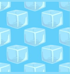 ice caps snowdrifts icicles seamless pattern vector image vector image