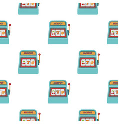 slot machine icon in cartoon style isolated on vector image vector image