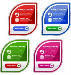 web banners for sale vector image vector image