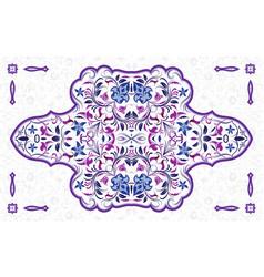 arabic ornate element vector image