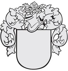 Aristocratic emblem no5 vector